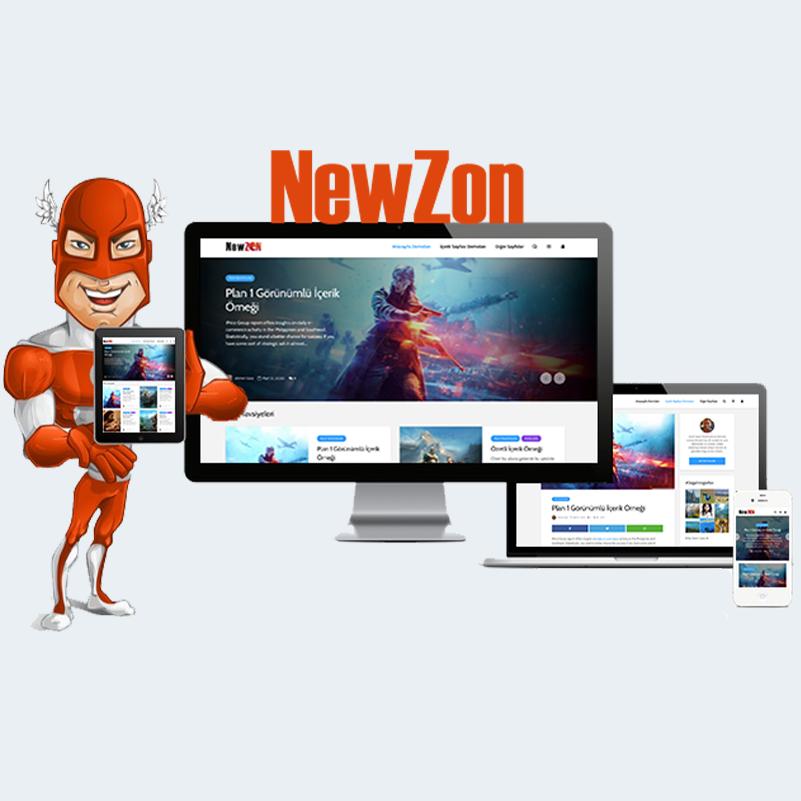 NewZon Wordpress Teması